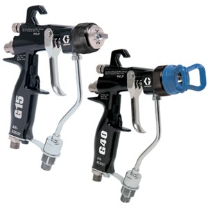 The new air-assisted spray gun range of Graco (source: Graco)
