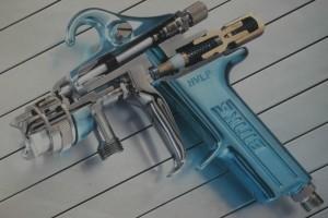 Binks HVLP Spray Gun